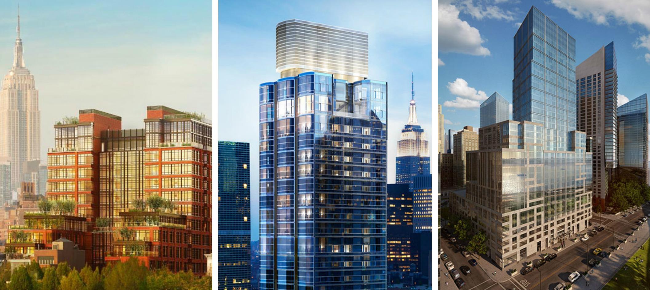 CityRealty 100, 150 Charles Street, 50 United Nations Plaza, One Riverside Park, Manhattan condos