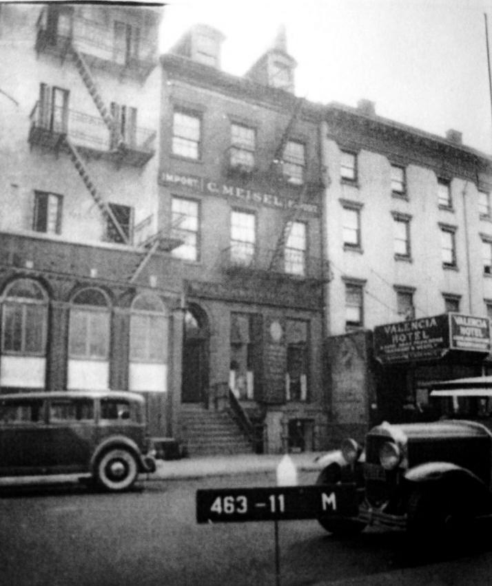 Hamilton Holly House , NYC Federal Townhouse, St. Mark's Place, Alexander Hamilton Jr.