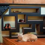 Katris, Papercut Lab, Tetris Furniture, Cats