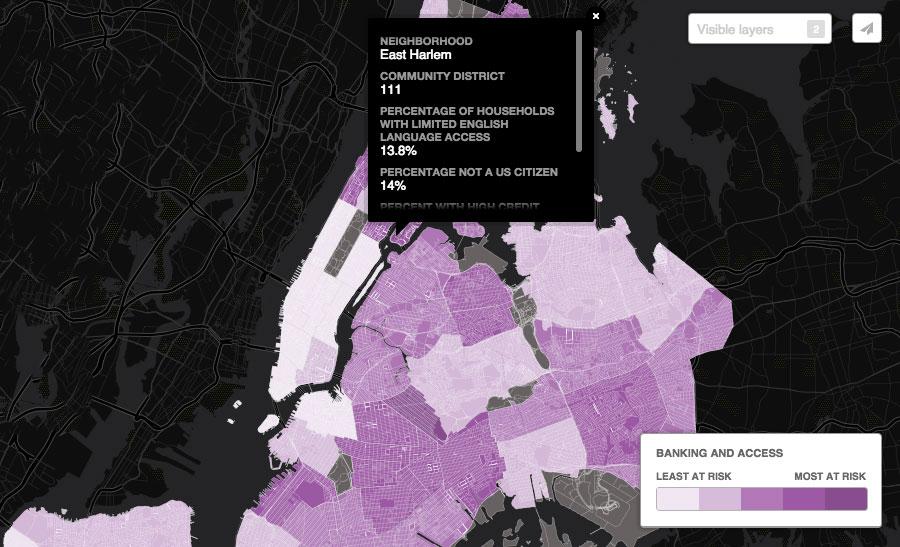 NYC-neighborhood-economy-map-banking-and-acess