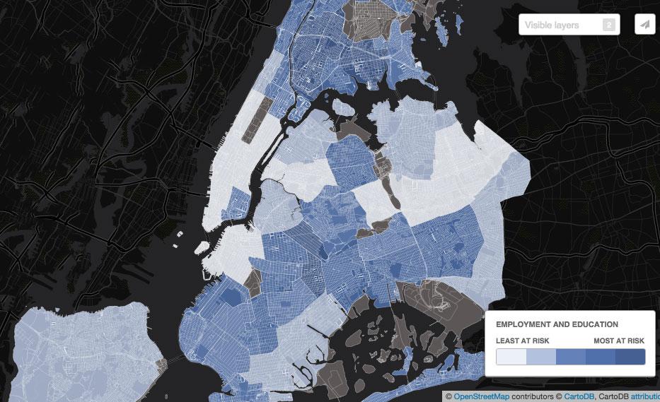 NYC-neighborhood-economy-map-employment-and-education