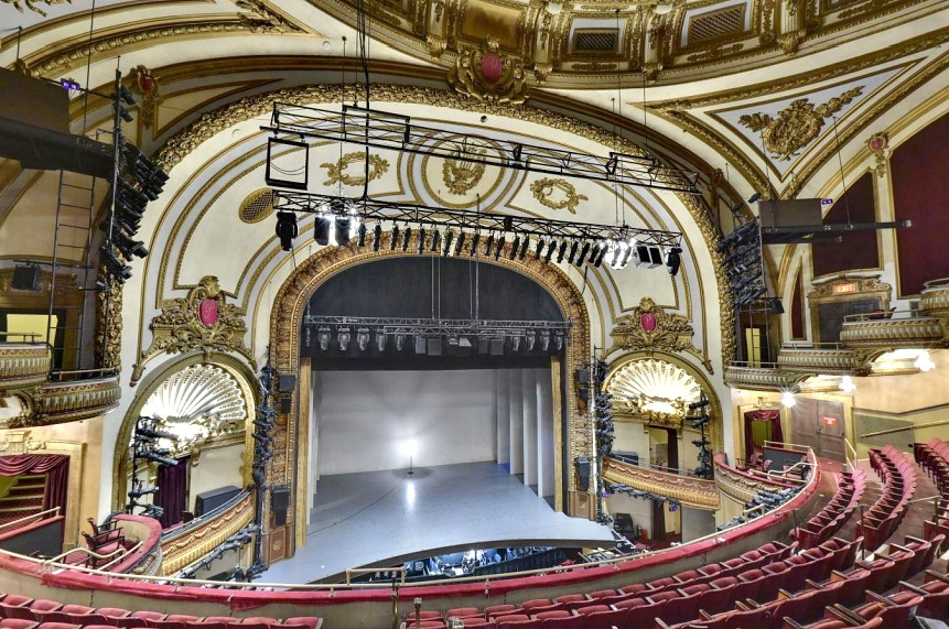 historic palace theater to get raised 29 feet to