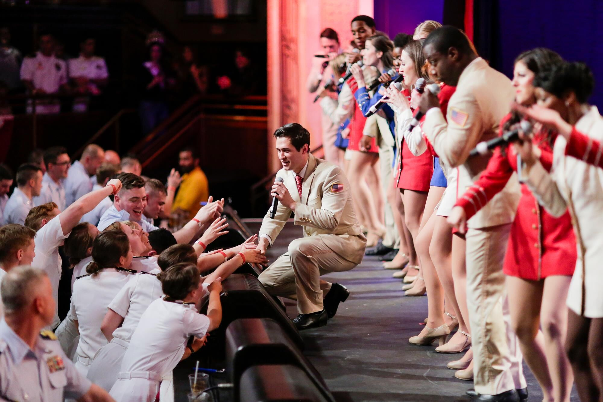 USO Show Troupe, USO of Metropolitan New York, veterans events NYC, Fleet Week, Hard Rock Cafe Times Square
