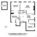 13 downing street-floorplan