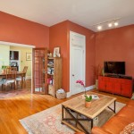 13 downing street, living room, dining alcove, co-op, greenwich village