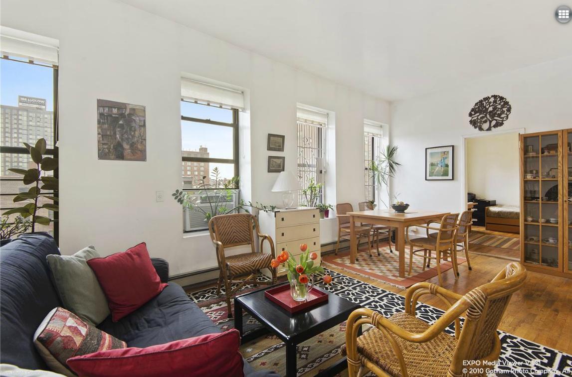 241 Eldridge Street, condo, lower east side, living room