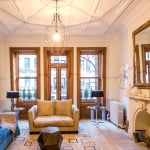 315 west 78th street, living room, upper west side, townhouse
