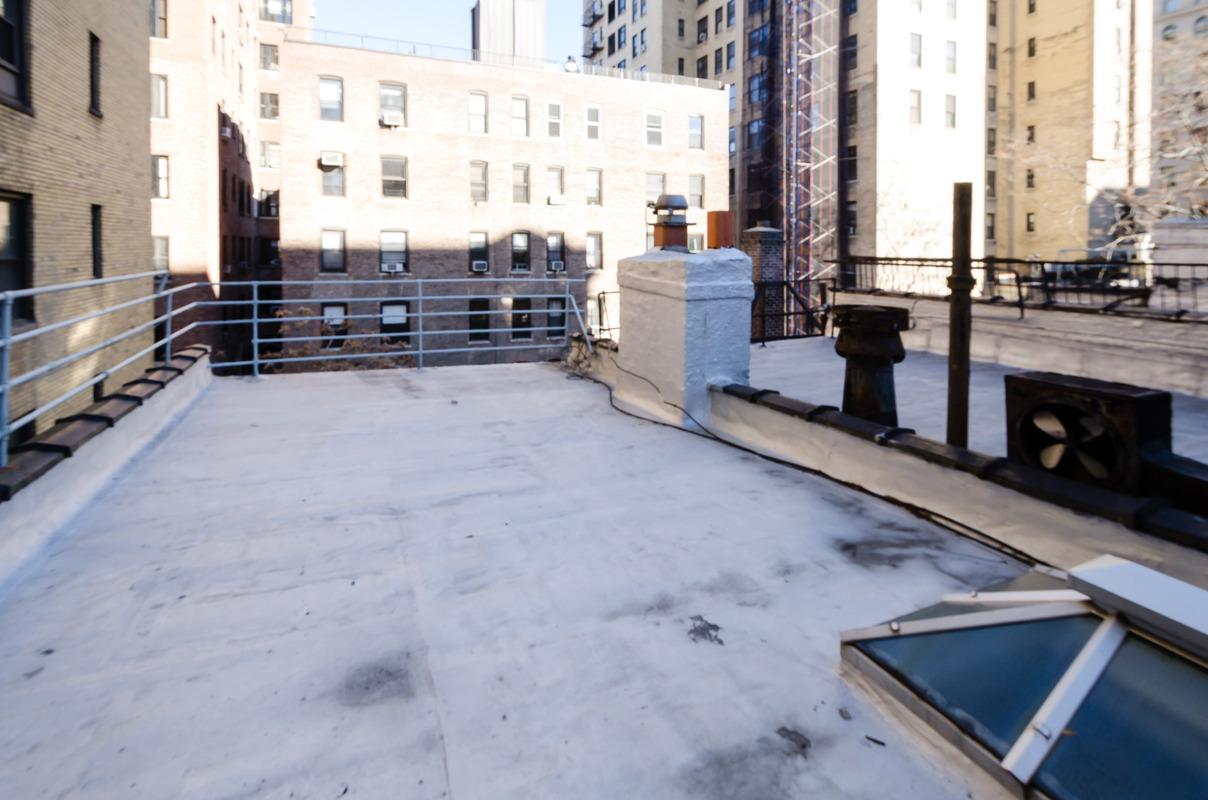 315 West 78th Street, patio, upper west side, townhouse rental