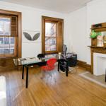 315 west 78th street, office, original windows, shutters, mantle, fireplace