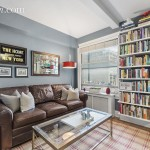 325 West 45th Street, co-op, the whitby, living room
