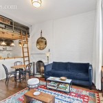 405 West 21st street, chelsea, studio, rental. living room