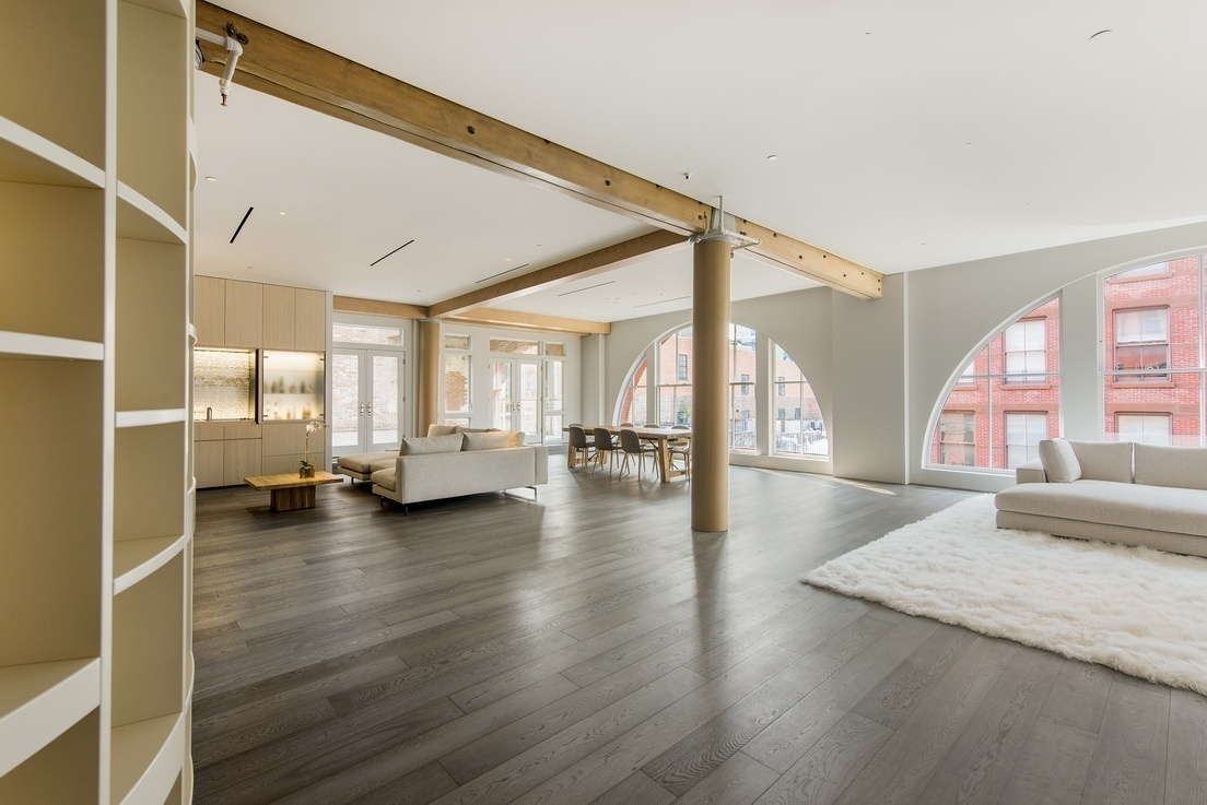 This 23 Million Soho Loft Comes With Designer Furniture And A Motorized Head