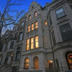 64 West 87th Street, facade, limestone, townhouse