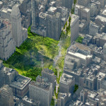 Green Line, Perkins Eastman, NYC parks, linear parks, Broadway NYC