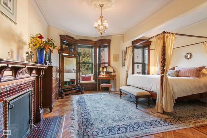 226 Garfield Place, master bedroom, park slope, brownstone