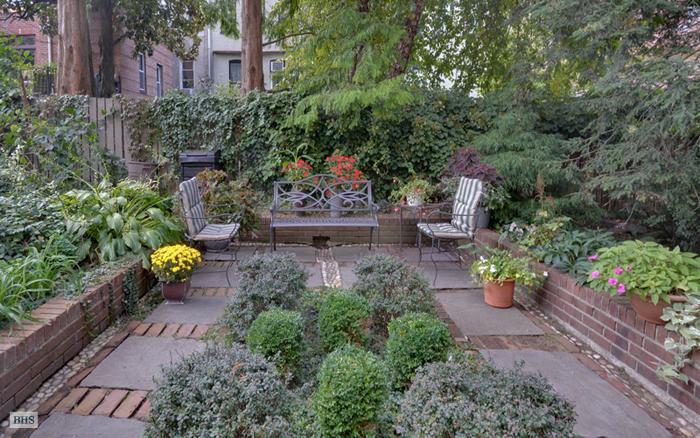 226 Garfield Place, garden, brownstone, park slope, renovation, backyard