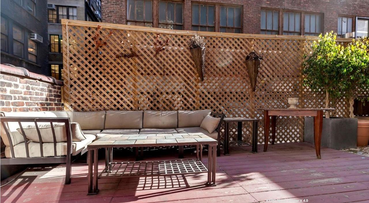 249 West 29th Street, patio, chelsea, loft