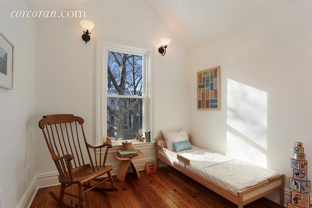 277 east 9th Street, bedroom, brooklyn townhouse, kensington