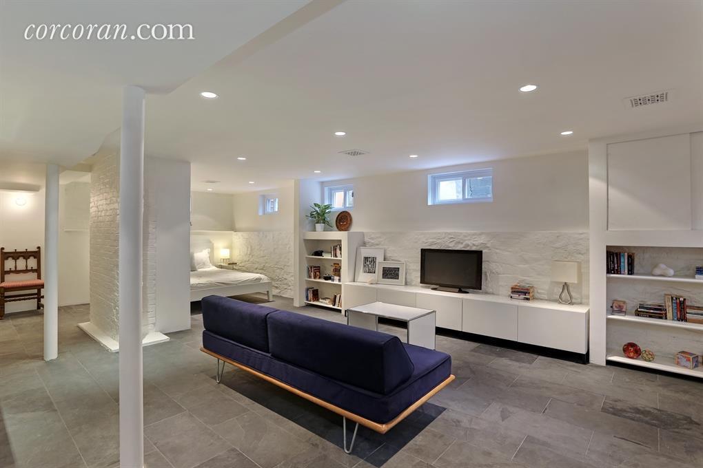 277 East 9th Street, basement, media room, bedroom,  rec room, kensington