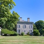 Gerard Crane House, 413 Route 202, Somers NY, Greek Revival mansion,