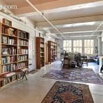 50 West 29th Street, nomad, loft, living room, bookshelves