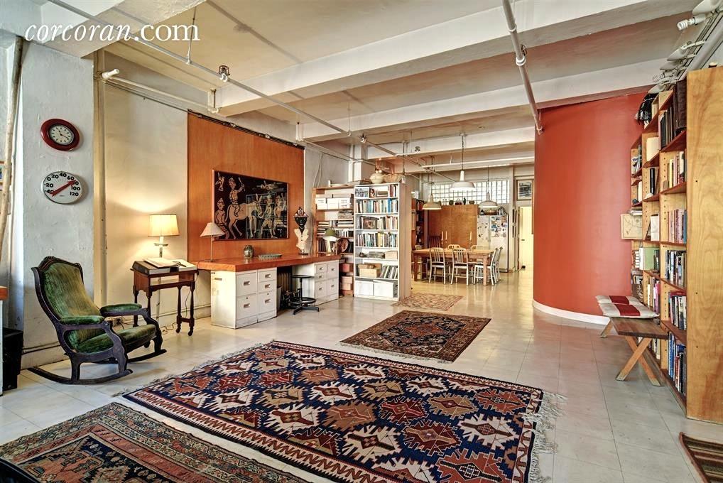 50 West 29th Street, loft, living room, co-op, flatiron