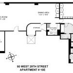 50 West 29th Street-floorplan