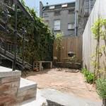 511 Grand Street, backyard, lower east side, vacation rental, rental