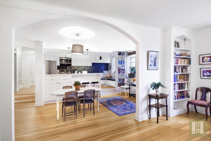 519 East 86th Street, kitchen, dining room, upper east side, yorkville, co-op