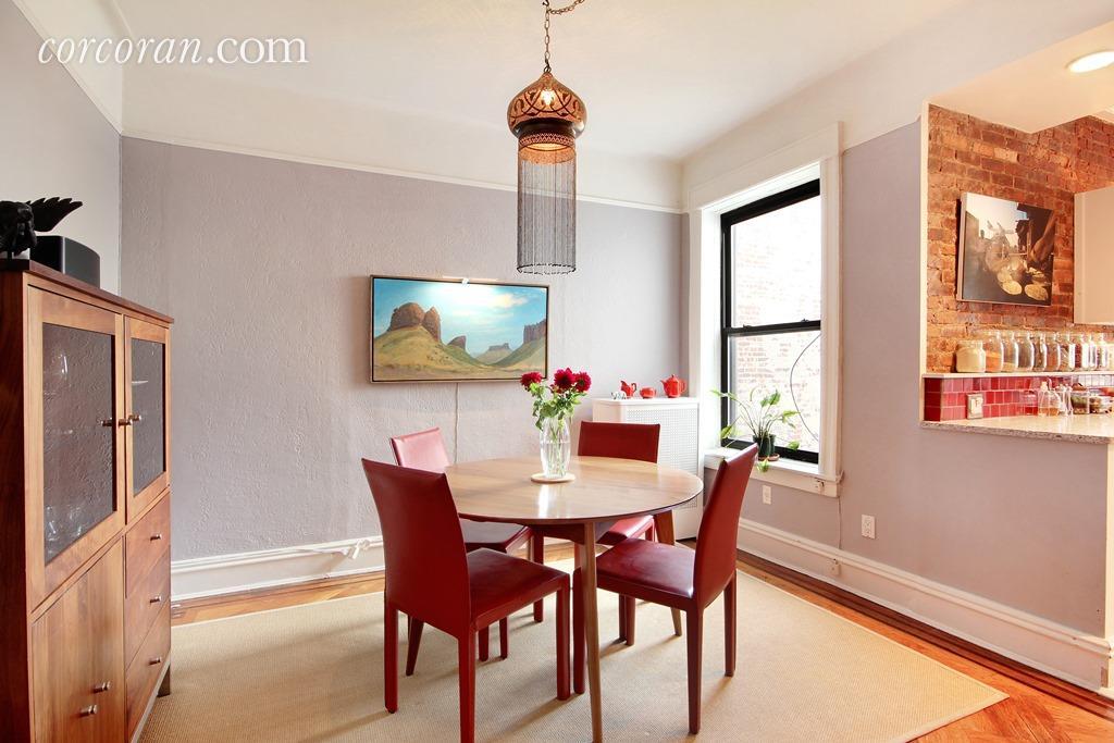 523 8th Street, dining room, rental park slope,