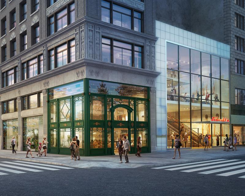 562 and 574 Fifth Avenue, 3 West 47th Street, Thor Equities, Extell Development