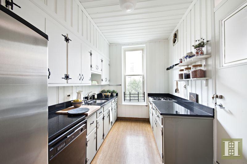 857 Carroll Street, kitchen, park slope townhouse, matthew blesso