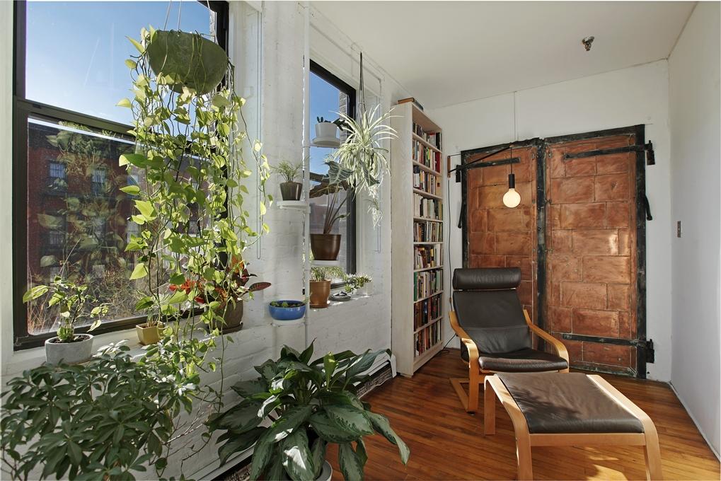 93 lexington avenue, sitting area, loft, loft co-op, clinton hill, copper elevator