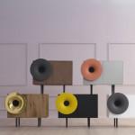 CARUSO, music cabinet, Paolo Cappello Design