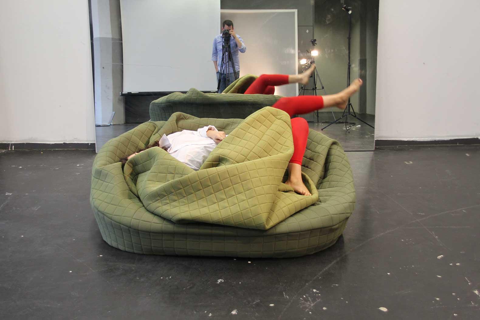 6sqft Hannah Ernsting S Cuddly Sofa Moody Nest