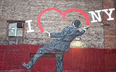 Nick Walker, Love Vandal NYC, NYC street art, British graffiti artists
