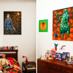 Painter Stephen Hall, at Westbeth Artists Housing