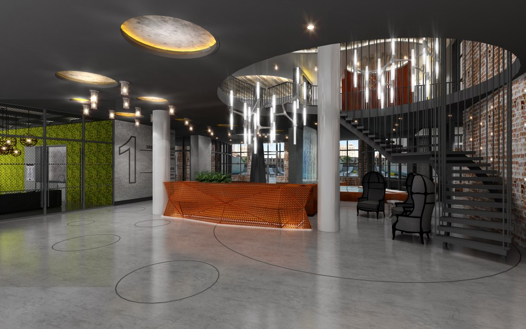 The Argent Lobby,Criterion Group, LIC Developments, Rabsky Group, Salamon Engineering Group, Simon Dushinsy, The Argent, 44-41 Purves Street