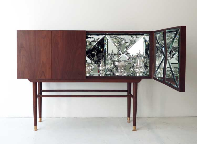 The Void In The Interior A Special Style : Kaleidoscope Cabinet