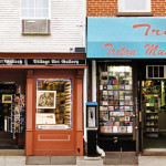 Village Art Gallery and TRITON MUSIC, NYC Signage