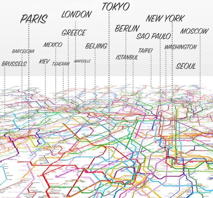 The World Metro Map, ArtCodeData