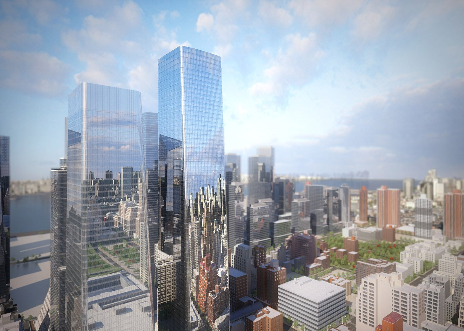 Som Architects Reveal New Renderings Of Hudson Yards