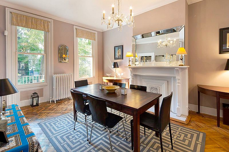 106 Cambridge Place, Clinton Hill, Historic Home, Landmarks, Cool Listing, Townhouse, Clapboard House, Townhouse for rent, rentals