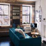 221 West 21st Street, living room, micro apartment, chelsea, co-op