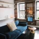 221 West 21st Street, micro aparment, the chelseagold, living room
