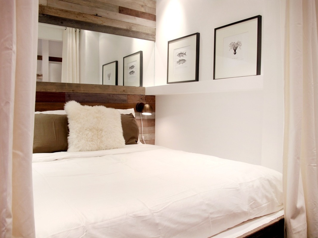 chelseagold, 221 West 21st Street, bedroom, micro apartment