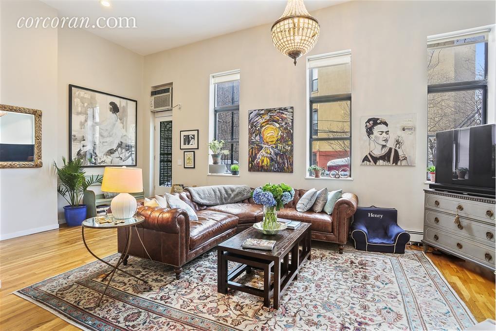 302 5th Avenue, living room, co-op, loft, park slope