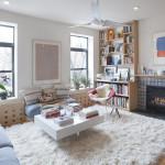 396 Franklin Avenue, living room, clinton hill, condo