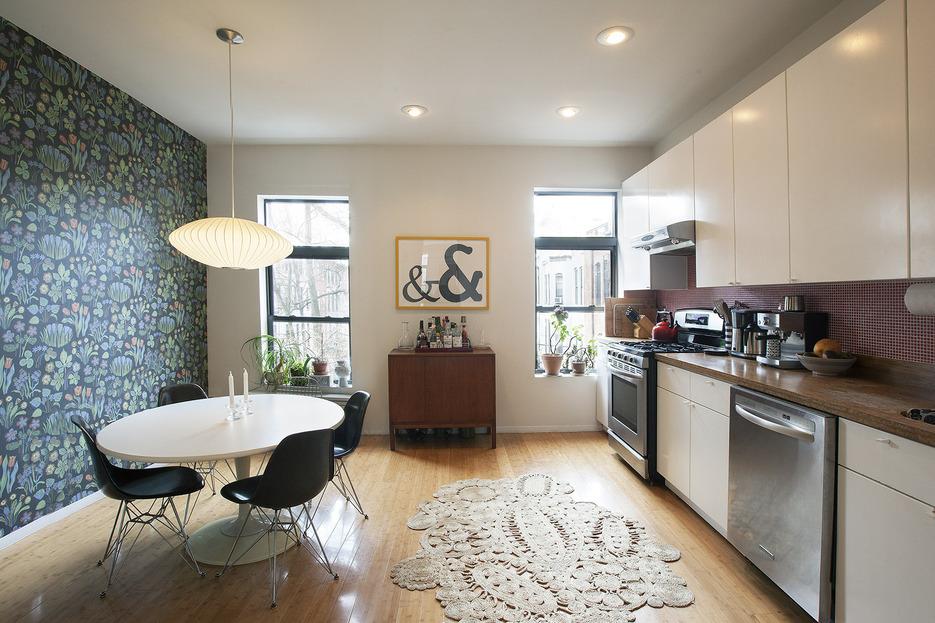 396 Franklin Avenue, kitchen, clinton hill, condo