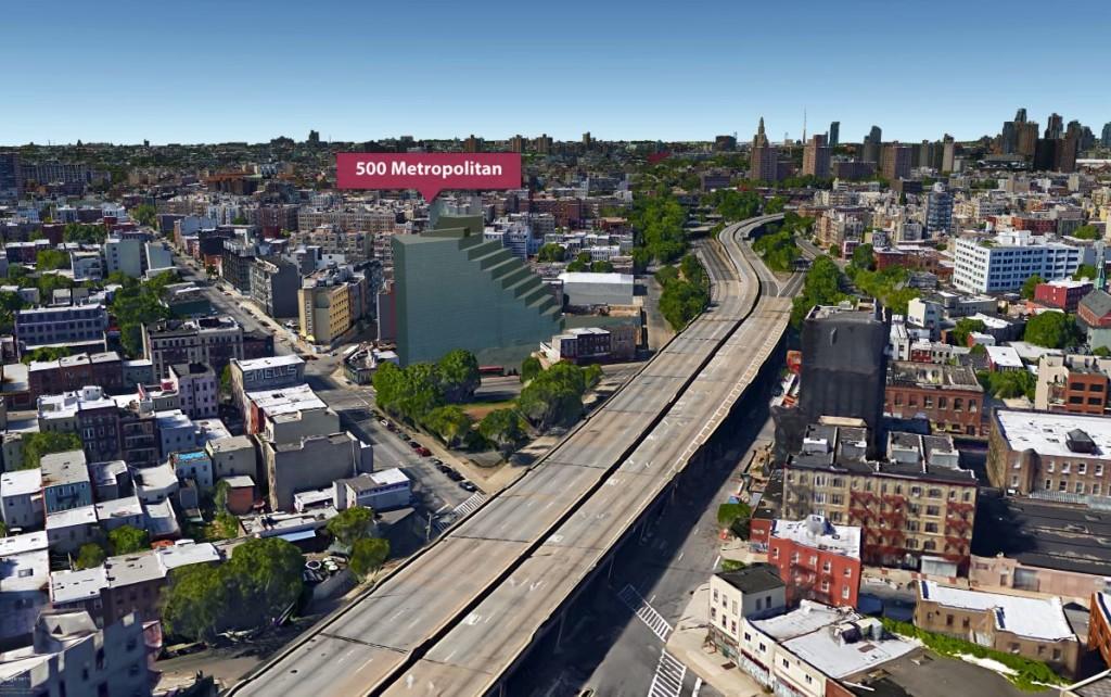 500 Metropolitan Avenue, Chetrit Group, Williamsburg development